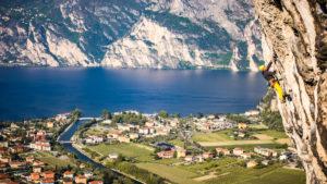 Climbing sul Lago di Garda