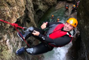 Canyoning on Lake Garda